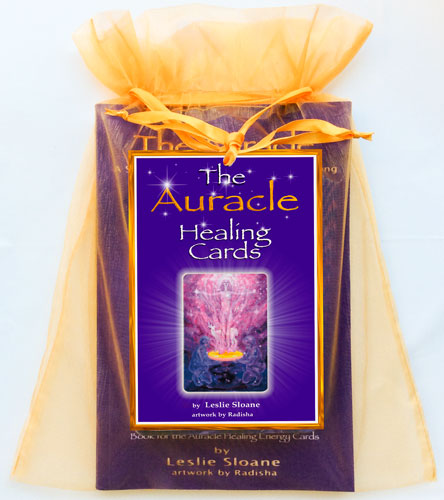 Auracle Healing Cards Packaging